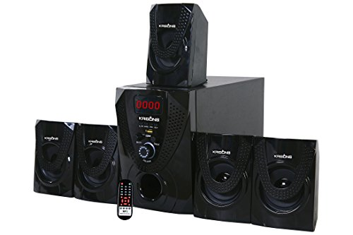 Krisons Nexon 5.1 Bluetooth Multimedia Home Theater (Black)