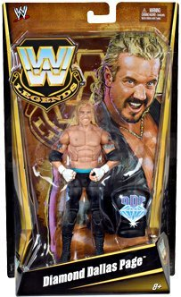 Mattel WWE Wrestling Exclusive Legends Action Figure Diamond Dallas Page by Mattel