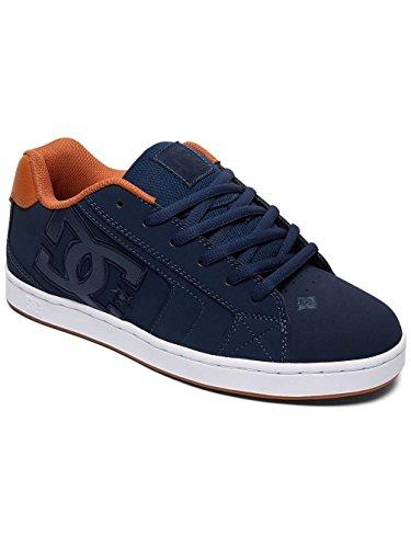 DC Shoes Net, Baskets mode homme Bleu Fonce