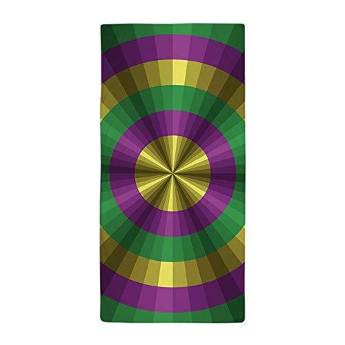CafePress Mardi Gras Illusion Großes Strandtuch, weich, 76,2 x 152,4 cm, einzigartiges Design -