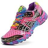 De la Mujer acolchado Gel Noosa TRI 8Trail carretera Running Sport Competencia de Carreras de zapatos calzado zapatillas en camuflaje rosa morado, mujer, Camouflage Rose Purple, EUR38
