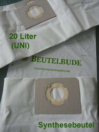 10 Staubsaugerbeutel / Staubfilterbeutel für OBI NTS 20 - 397497 , 20 Liter-Beutel , Microvlies