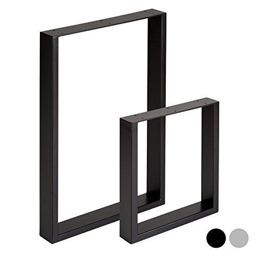 Hartleys Quadrat-Tischbeine im Bauhaus-Stil - Verschiedene Größen & Farben