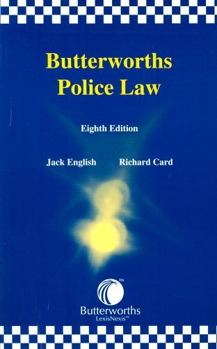 butterworths-police-law-written-by-jack-english-2003-edition-8th-revised-edition-publisher-lexisnexi