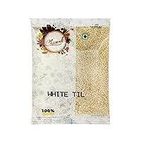Chounk White Sesame Seeds (Safed Til/Til Seeds), 100g