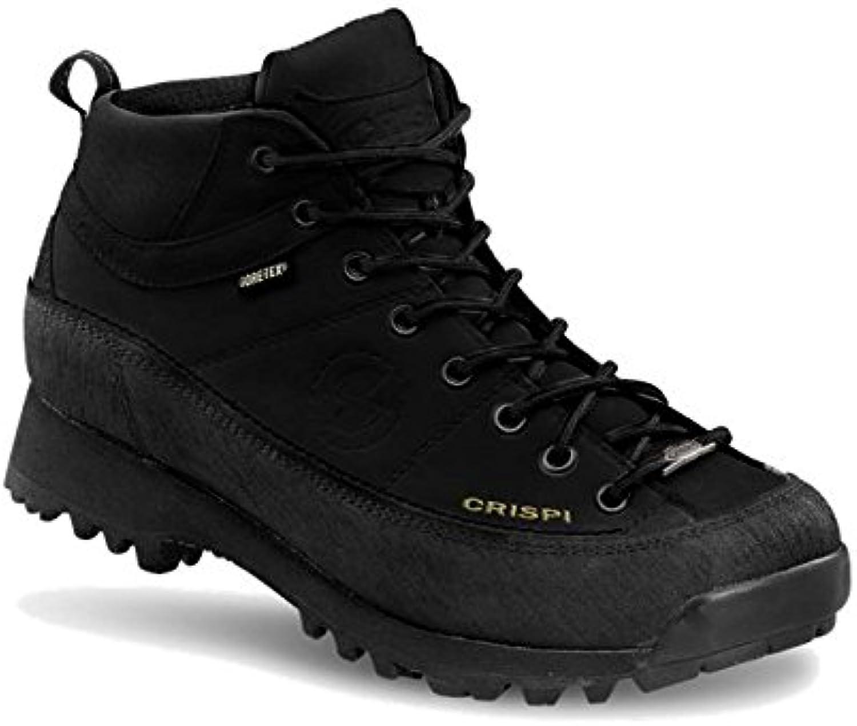 CRISPI  Herren Trekking   Wanderstiefel  schwarz schwarz