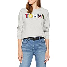 ea898df75fe9 Tommy Hilfiger Francesca C-NK Sweatshirt Ls Sweat-Shirt Femme