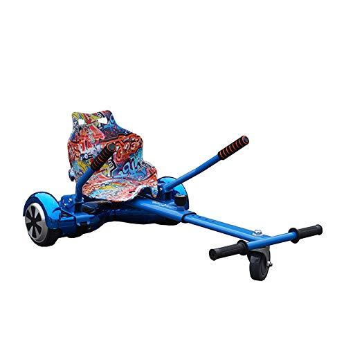 Gift Gadgets Offizielles Racer Hoverkart GoKart Hover, blau