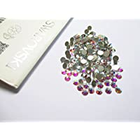 Genuine SWAROVSKI CRYSTALS FOILED FLAT-BACK 2058 RHINESTONE GEM - Crystal AB 3.2mm (SS12) 55 Crystals in Pack