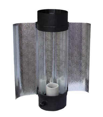 PK Cool-Tube, Anschlussflansch: ø 125 mm, L=400 mm, mit Außenreflektor, 600 W