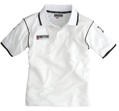Derbystar Herren Polo-Shirt weiss