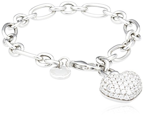 Esprit Damen Armband 925 Sterling Silber Zirkonia EUPHORIA ELBR91617A200