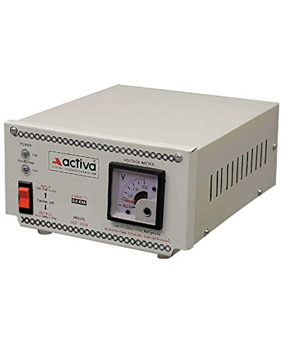 ACTIVA LED/LCD/TV/FRIDGE VOLTAGE STABLISER 0.5 KVA /100-300 VOLTS