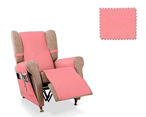 JM Textil Deckt Sessel Relax Dali 1 Plaza 55cm Rosa