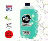 Bubble Machine Mix. DR ZIGS. 5 Litres of Best Professional Grade Solution for ALL Bubble Machine. High Performance and Long-Lasting Large Bubbles. Suitable for Performers, Entertainers, DJ's and Family Fun. Great for Parties Night Clubs Events and Home. Made to Secret Recipe. CE tested.