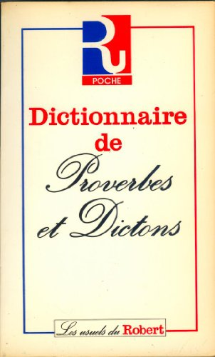 Dictionnaire de proverbes et dictons