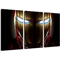 Eroi Marvel pittura su tela, (Dimensione: 120x80 cm) Immagini enormi completamente Pagina con la barella, arte stampa sulla foto muro con telaio