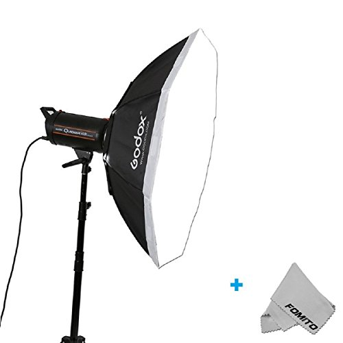 Fomito Godox Top Octagon Softbox 16 Inch/140 cm Octagon Softbox Photography Light Verbreiten and ändern with Bowens Speedring Mount for Monolight Foto Studio Strobe Lighting Foto-studio Monolight
