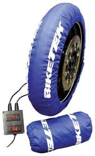 BikeTek Standard calentadores de neumáticos UK 3Pin-200/55-17trasera frontal de 120/70-17