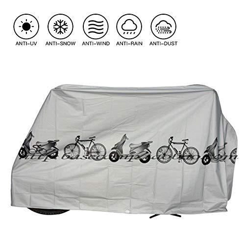 SUNDUXY Bike Cover Outdoor wasserdichte Fahrradabdeckungen, Schutz vor UV-Regen, Schneestaub, für Mountain Road Electric Bike Dreirad,StyleB