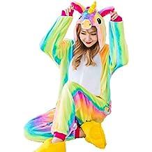 mi ji Unicornio Pijama Diseño Y Unicornio Pijama con Las Estrellas Diseño,Unisex Traje de