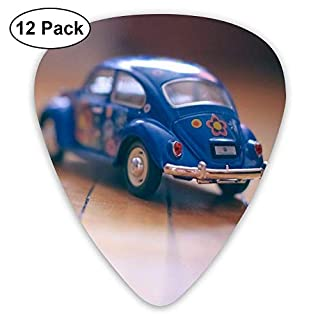 Blue Car Toy Classic Guitar Pick (12 Pack) for Electric Guita Bass