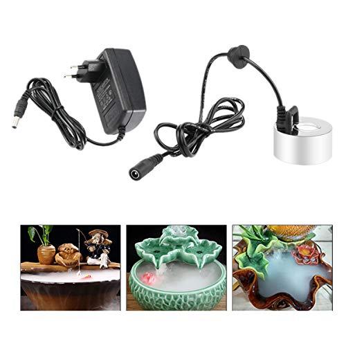 FORNORM 350 ml/h Mini 20 mm Hoja de atomización Mist Maker Humidificador Fogger Atomizador Fogger Fuente...