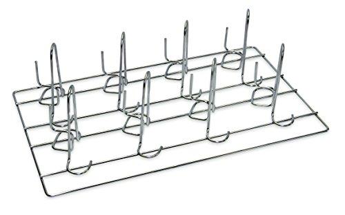Hähnchen Grillrost Grillständer Grill Ständer für 8 Hähnchen bzw Enten Gastro Geflügelhalter Hähnchenbräter