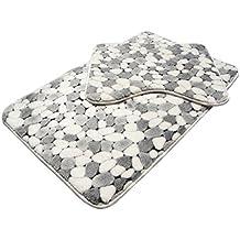 Badezimmer Matte Coral Samt Rutschfeste Boden Teppich Matte Zwei Teile 45 *  50 Cm + 50