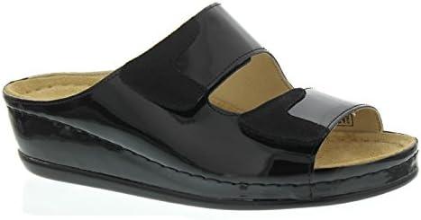 Berkemann - Sandalias de vestir para mujer negro negro