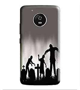 HiFi Designer Phone Back Case Cover Motorola Moto G5 :: Motorola MotoG5 :: Motorola G5 ( Halloween Party Skull )