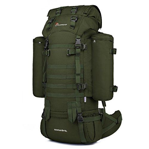 f348bc2bf5 Mardingtop 65+10L sac a dos militaire Sac à dos tactique avec housse de  pluie