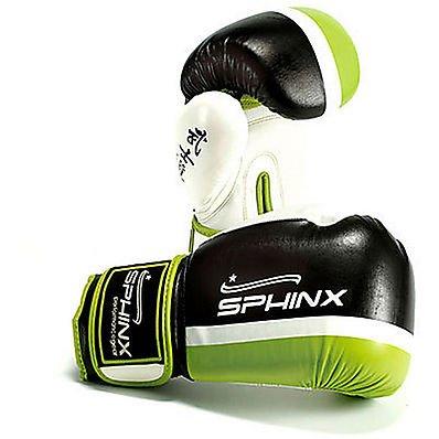 Sphinx Gear Blackhawk 2 Guanto da Boxe, Nero, 10 oz