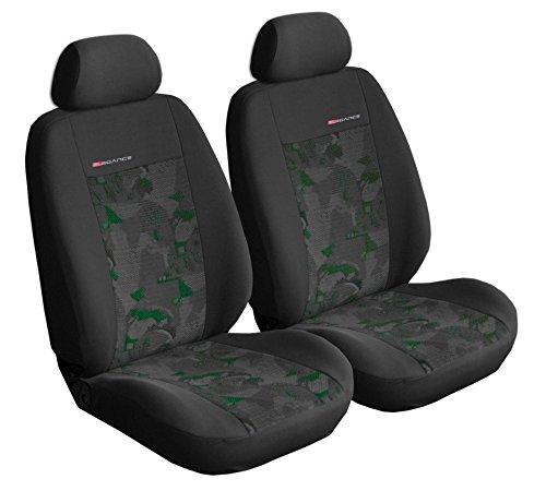 üge Sitzbezüge für Vordersitze Auto-Dekor Elegance (Grün) (Colts-dekor)