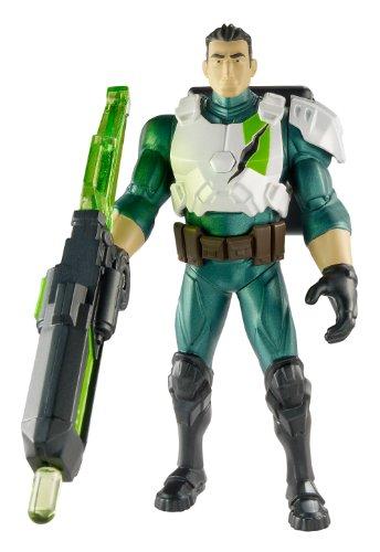Max Steel-329063-Ferrus Angriff Doppel-Figur 15cm (Charaktere Steel Max)