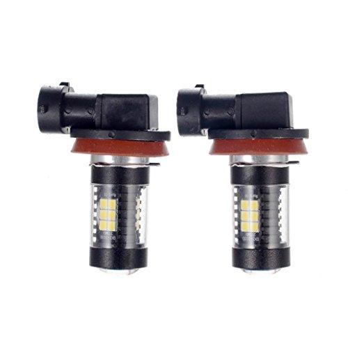 wuayi Super Weiß LED Nebelscheinwerfer Fahren Leuchtmittel 2303021SMD H8/H11High Power 6000K Rückfahrkamera Licht