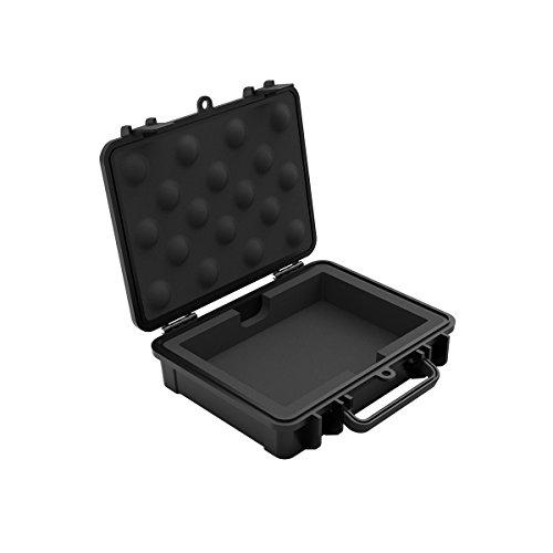 Yottamaster Hand-gehalten Festplattentasche 3.5 Zoll Externe HDD Staubdicht,Stoßfest -Schwarz -