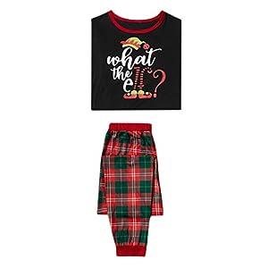 Freizeitanzug Weihnachten Männer T-Shirts Trousers Sets Papa Trainingsanzug Gedruckt Bluse Tops + Pants Bekleidungsset Xmas Familie Pyjama Set