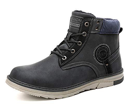 Gaatpot Hombre Botas de Nieve Cálidas y Cómodas Zapatos de Invierno Fur Forro Aire Libre Zapatillas...