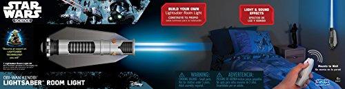 Tío Milton - Star Wars Ciencia - Sable de luz Multicolor luz de habitación