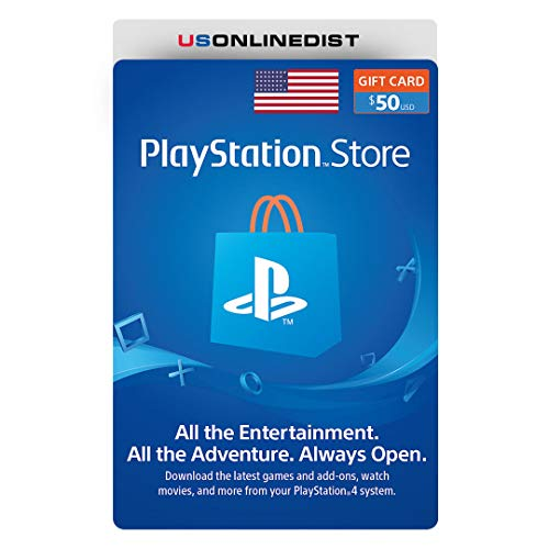 Sony Playstation Network 50 US-Dollar Karte - PSN 50 Dollar - PS4 PS3 PSP USA