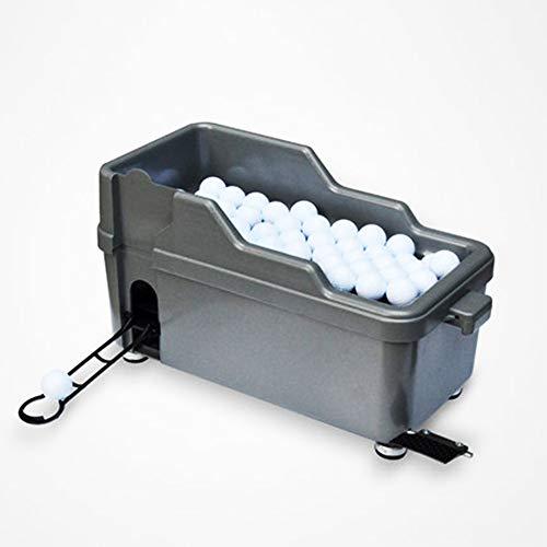 Indoor-Golf mit großer Kapazität und halbautomatischer Ballautomatentour Pure Putt kann 140 Bälle heben und senken, um die Höhe anzupassen -
