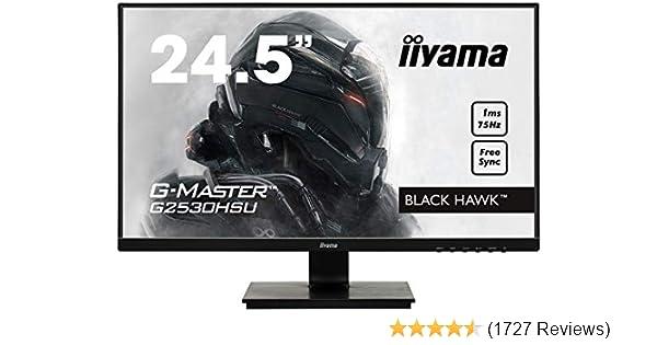 iiyama G2530HSU-B1 24.5 G-Master HD LED Gaming Monitor with FreeSync and USB Black