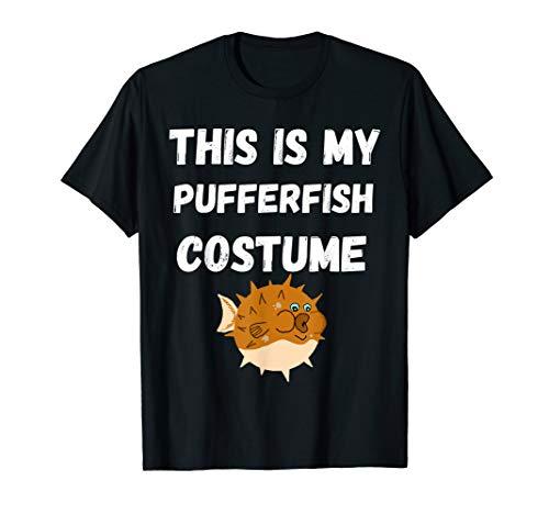 This Is My Pufferfisch Kostüm Kugelfisch T-Shirt Fugo Fisch (Lustige Meeresbewohner Kostüm)