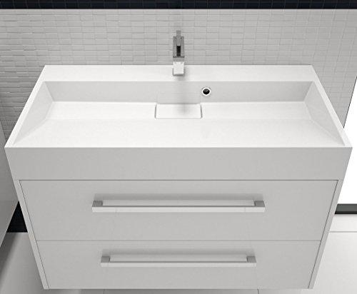 waschtisch 90 cm mit unterschrank bestseller shop f r m bel und einrichtungen. Black Bedroom Furniture Sets. Home Design Ideas