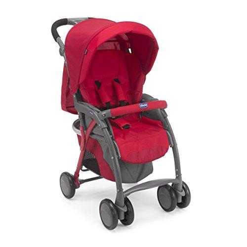Chicco 04079482700000 simplicity plus top passeggino, rosso