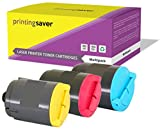 Printing Saver CLP-300A Cyan (1) Magenta (1) GELB (1) Toner kompatibel für Samsung CLP-300, CLP-300N, CLX-2160, CLX-2160N, CLX-2160X, CLX-2161KN, CLX-2161K, CLX-3160, CLX-3160N, CLX-3160FN