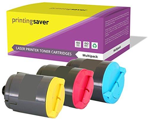 Printing saver clp-300a ciano (1) magenta (1) giallo (1) toner compatibili per samsung clp-300, clp-300n, clx-2160, clx-2160n, clx-2160x, clx-2161kn, clx-2161k, clx-3160, clx-3160n, clx-3160fn