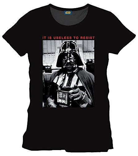 for-collectors-only Star Wars–Camiseta de Darth Vader tamaño m (Medium) it is Useless to Resist