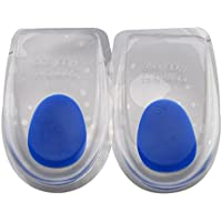 Faylapa 1 Paar Comfort Gel Heel Pads Fußmassage Ideal für Leiden von Fersensporn, Plantar Fasciitis und Achillessehne... preisvergleich bei billige-tabletten.eu